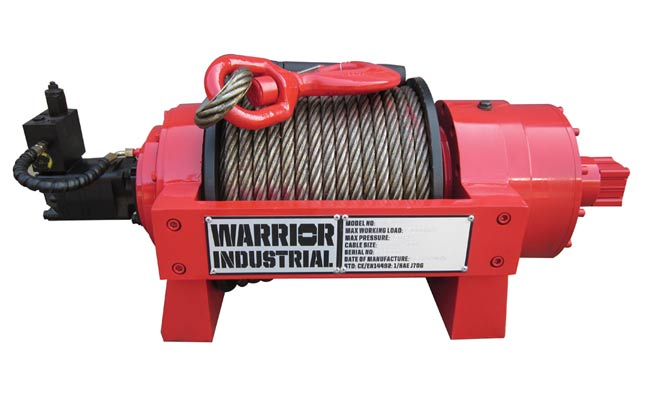 JP 15 Industrial Hydraulic Winch